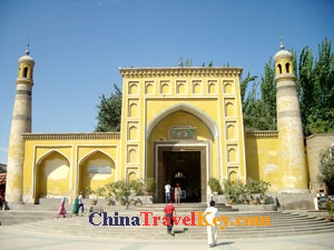 photo of kashgar id kah mosque