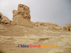 photo of Turpan Jiao City Ruins