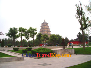 photo of Xian Big Wild Goose Pagoda